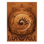 Love all ways always postcard