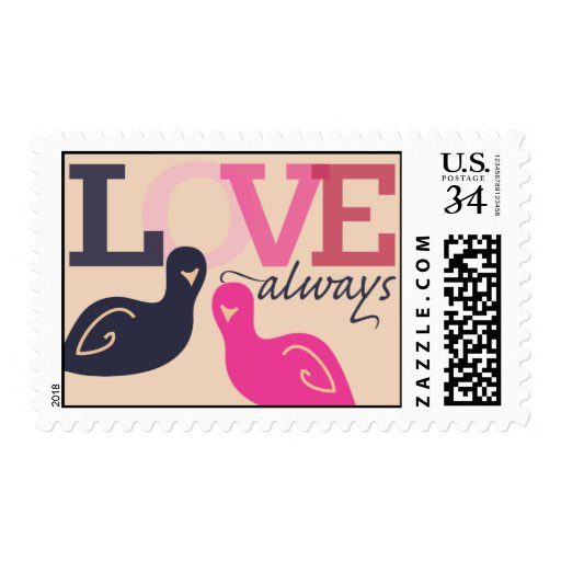 Love Always 29 cent Stamp for Postcards