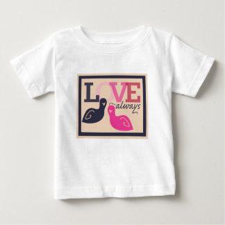 LOVE always birds Baby T-Shirt