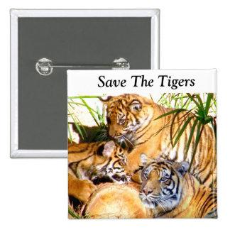 Love Always Tigers_ Pins