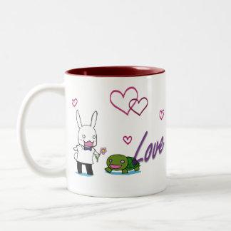 Love Always Two-Tone Coffee Mug
