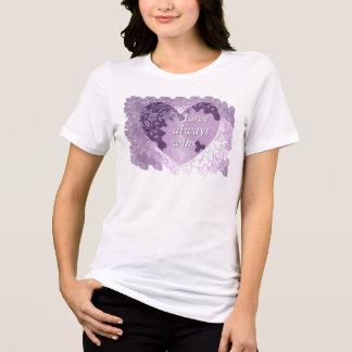 """""""Love always Wins"""" women T-shirt"""