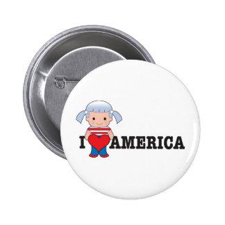 Love America Button