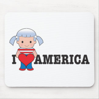Love America Mouse Pad