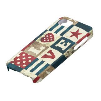 Love America Patriotic iPhone SE/5/5s Case