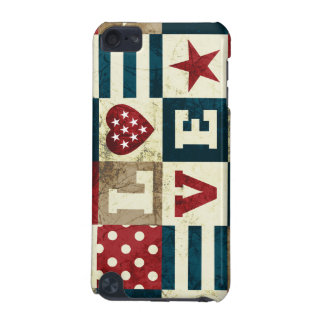 Love America Patriotic iPod Touch 5G Cover