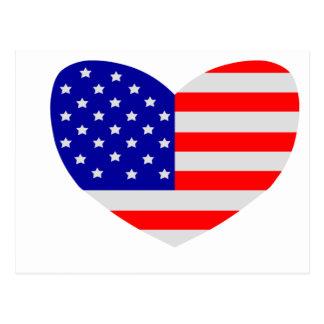 Love America Postcard