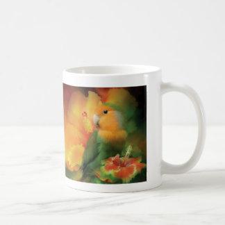 Love Among The Hibiscus Mug