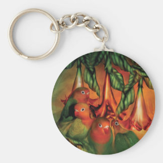 Love Among The Trumpets Art Keychain
