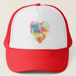 Love, Amour, 爱, Passion Trucker Hat