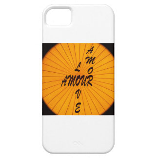 Love amour Amor iPhone 5 Cover