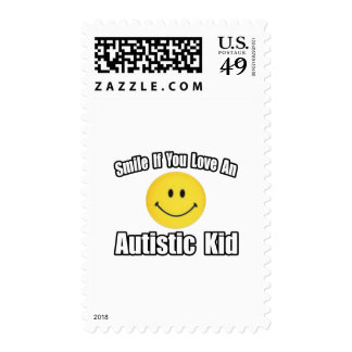 Love an Autistic Kid Postage Stamps