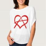 Love Anarchy T Shirts