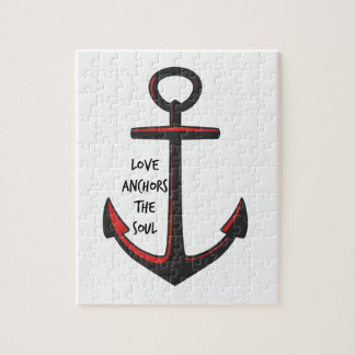 Love Anchors The Soul Jigsaw Puzzle