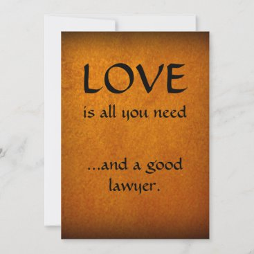 Love And A Good Lawyer Thank You