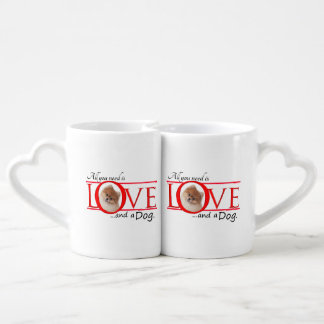 Love and a Pomeranian Lover's Mugs