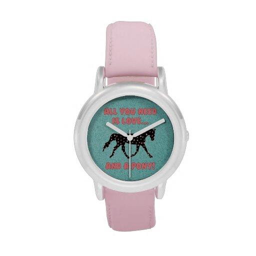 Love and a Pony Wristwatch