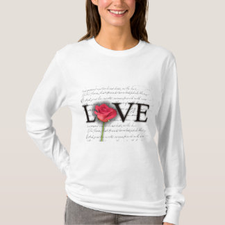 Love and a rose T-Shirt