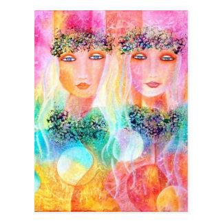 Love and Aloha Postcard
