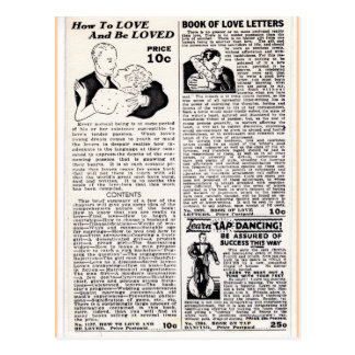 Love And Be Loved Postcard