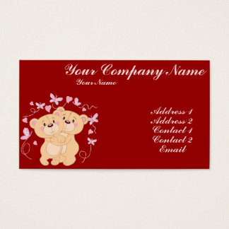 Love and Butterflies Business Card