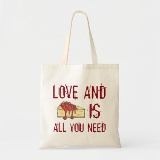 Love and Cheesecake Is All You Need Foodie Tote