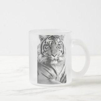 Love and Courage_ Frosted Glass Coffee Mug