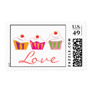 Love and Cupcakes Stamp
