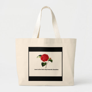 love and devotion canvas bags