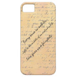 Love and Fairytale Quote iPhone 5 Cover