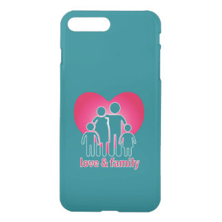 Love and family iPhone 7 plus case