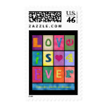 Love and Friendship Postage Stamp