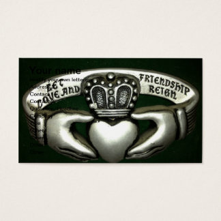 love and friendship ring business card
