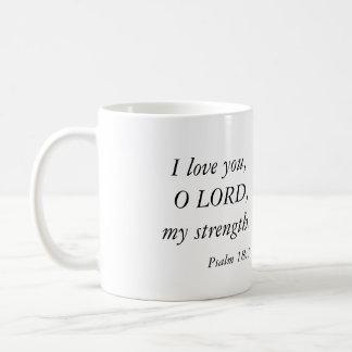 Love and God bible verses mug