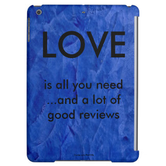 Love And Good Reviews iPad Air Cases