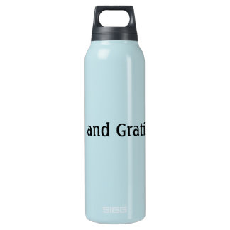 Love and Gratitude Insulated Water Bottle