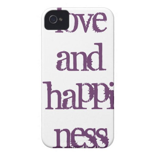 Love and Happiness cover iPhone 4 Cover