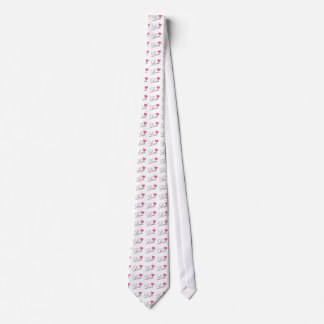 Love and Heart Design Tie by Leslie Harlow