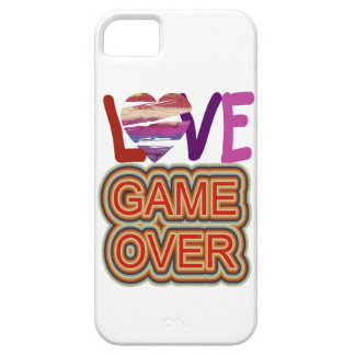 Love and Heart Game Over 2 iPhone SE/5/5s Case