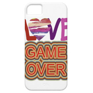 Love and Heart Game Over iPhone SE/5/5s Case