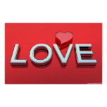 Love and heart posters