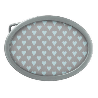 LOVE AND HEARTS belt buckle
