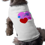 Love and Hearts Design on T-Shirts, Gifts and More Dog Clothes