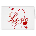 Love and Hearts Greeting Cards