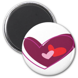 Love and Hearts Magnet