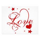Love and Hearts Personalized Invitation
