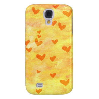 Love and hearts samsung galaxy s4 cover