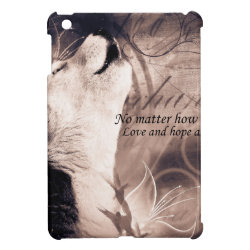 love and Hope Siberian husky Case For The iPad Mini