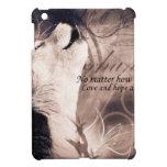 love and Hope Siberian husky iPad Mini Cover