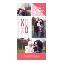 Love and Hugs Photo Valentine Card
